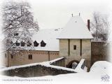 Die Rüsselsheimer Festung im Winter